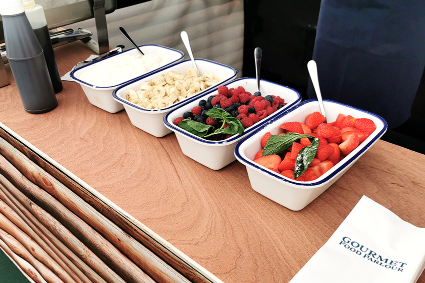 Food at the event