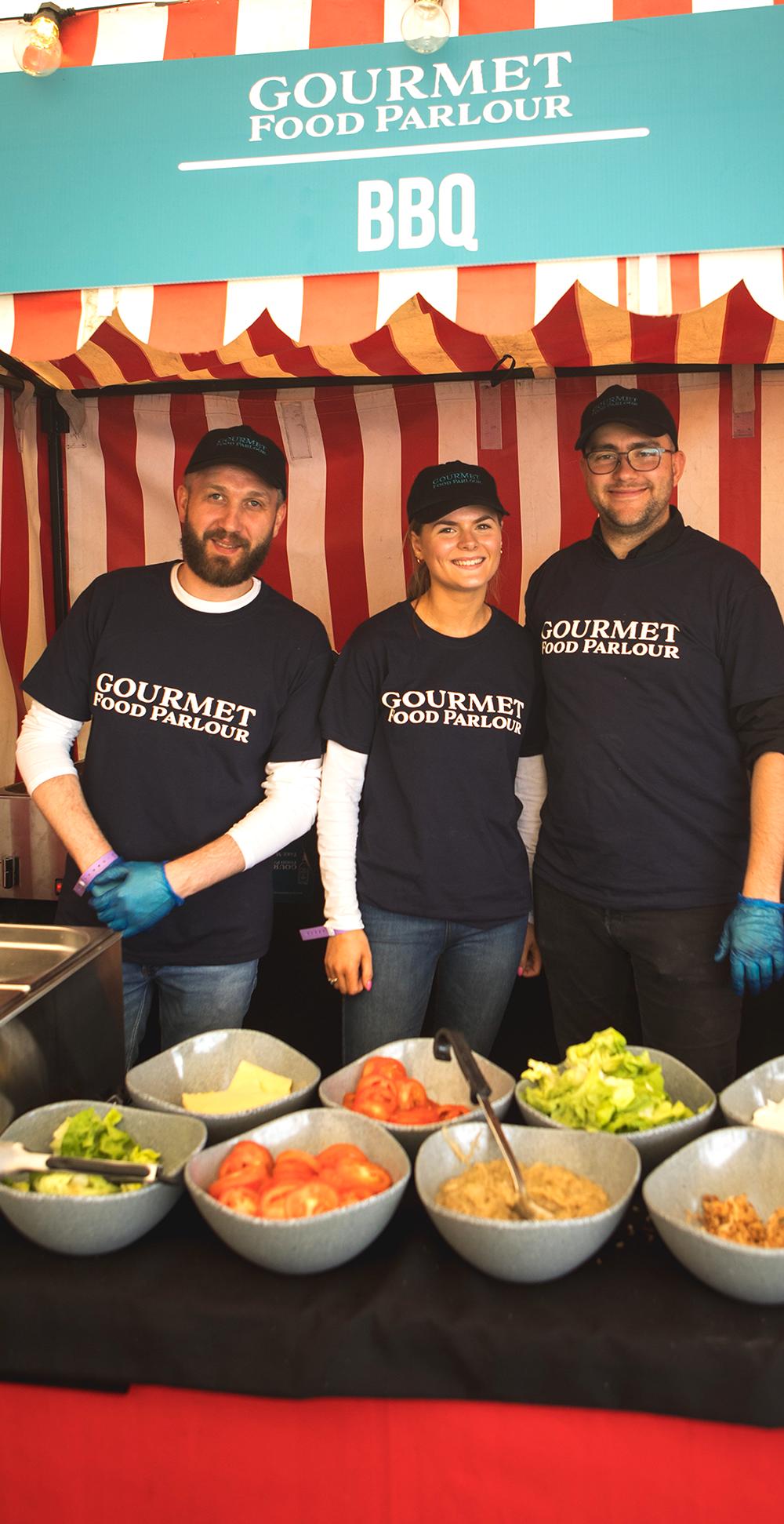 Gourmet Food Kitchen staff