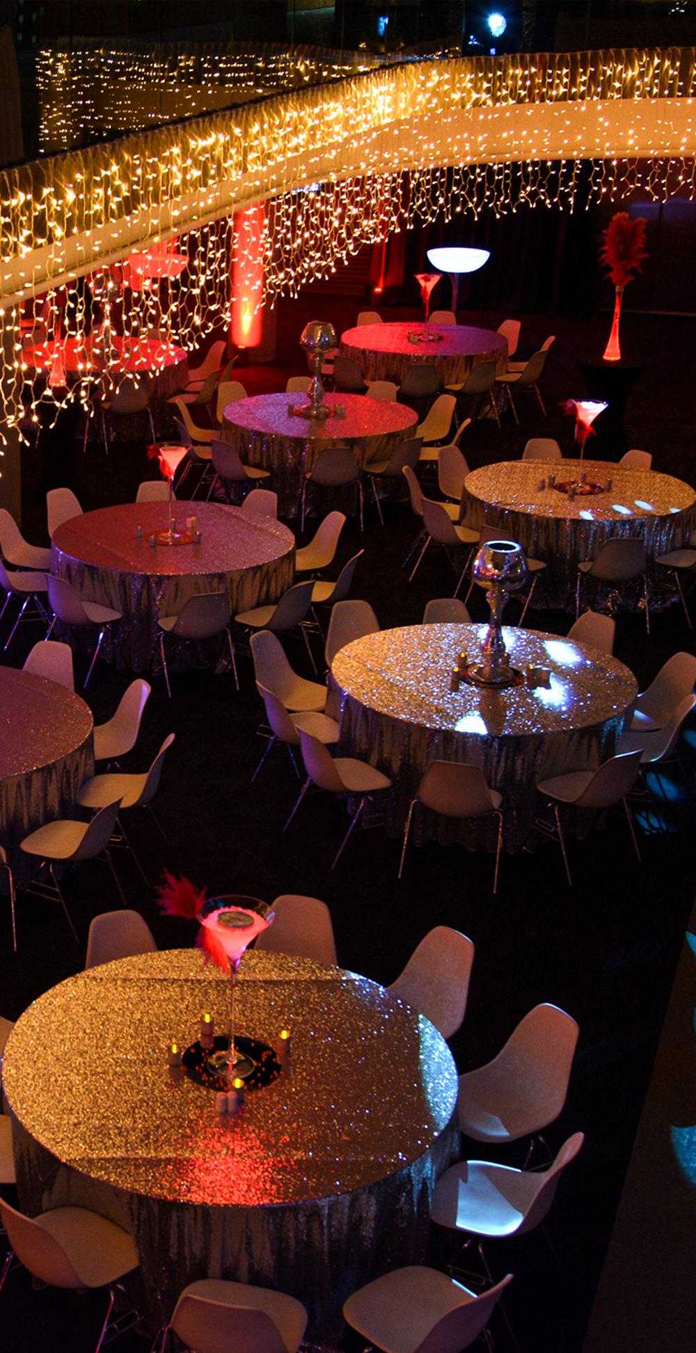 Aviva party interior