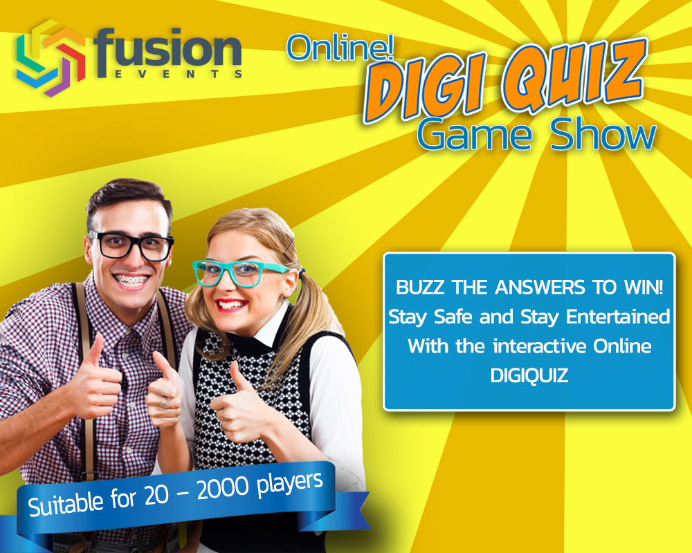 Online Digi Quiz Game Show