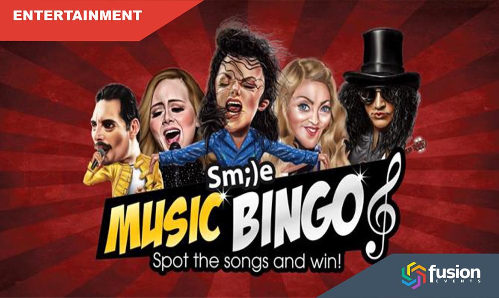 Online Event – Music Bingo